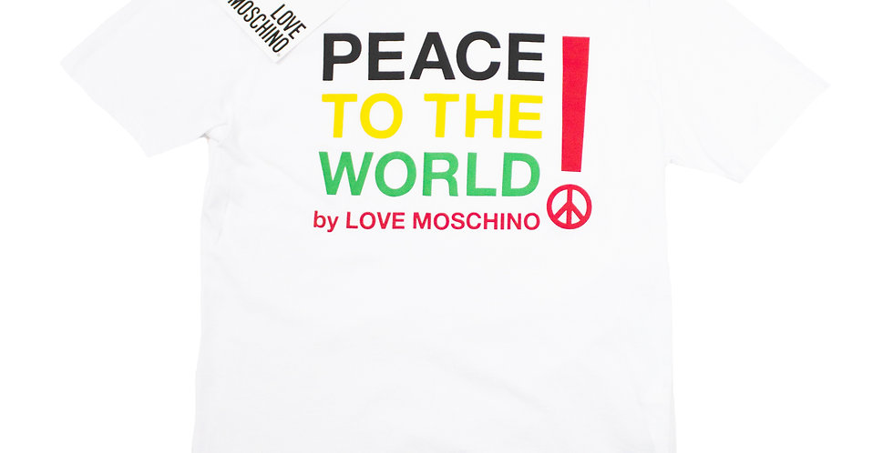 Love Moschino 'Peace To The World' T-shirt