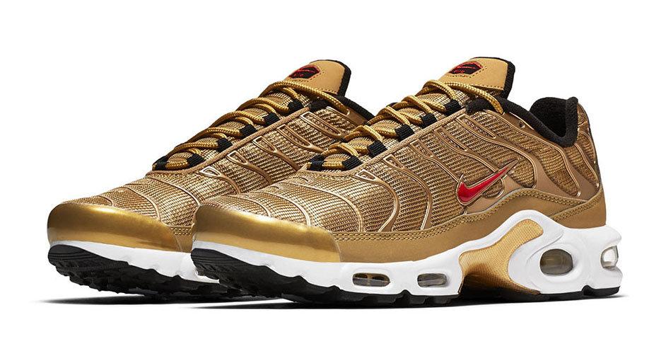 Nike Air Max Plus Tuned TN Gold Bullet