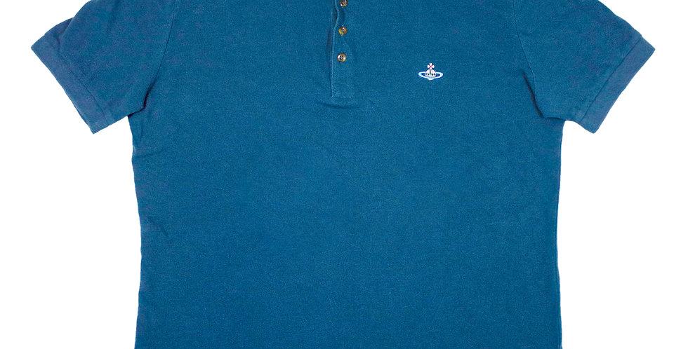 Vivienne Westwood Blue Polo Shirt