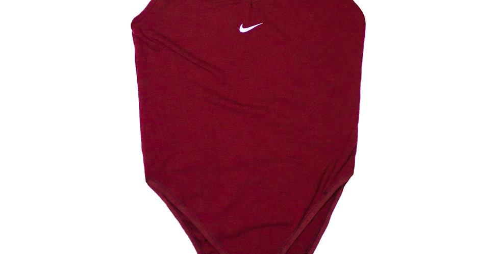 Nike Burgundy Bodysuit
