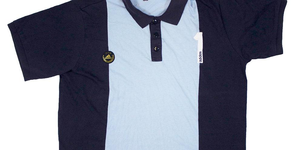 Adidas Blue Polo Shirt