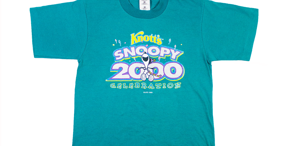 1999 Knotts Snoopy T-shirt