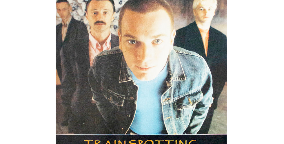 1995 Trainspotting Movie Review Poster