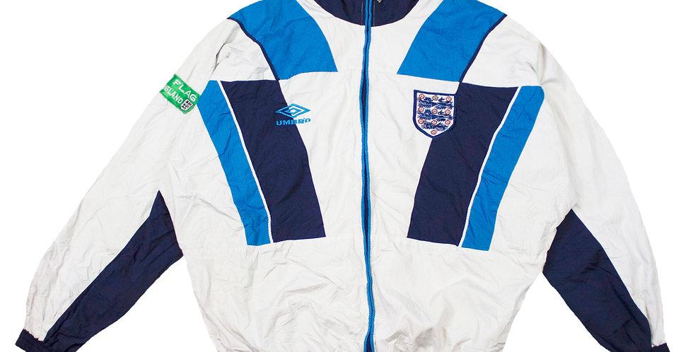1995-96 England Umbro Training Jacket