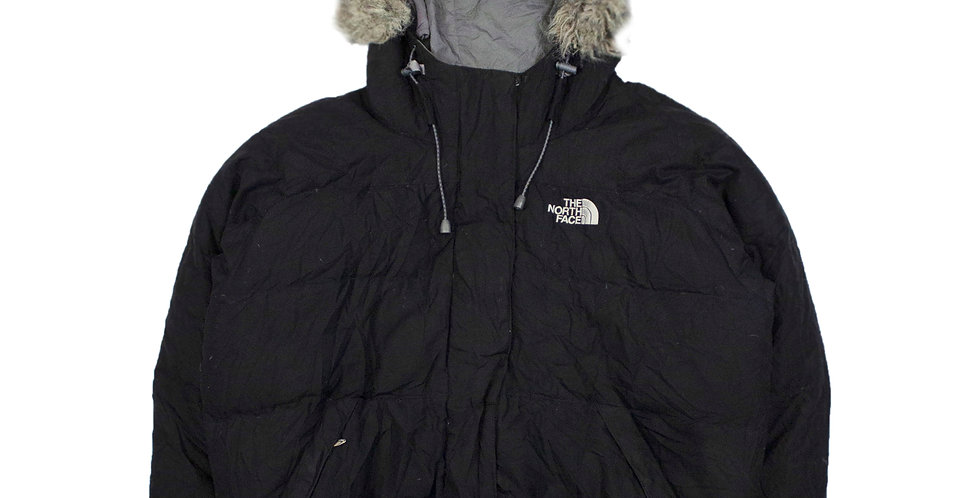 North Face 550 Faux Fur Puffer Jacket