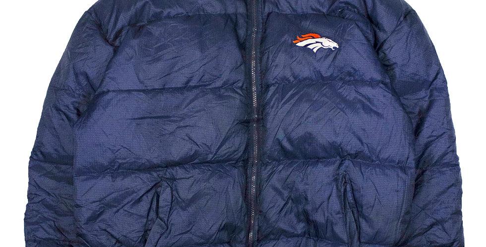 Starter NFL Broncos Reversible Puffer Jacket