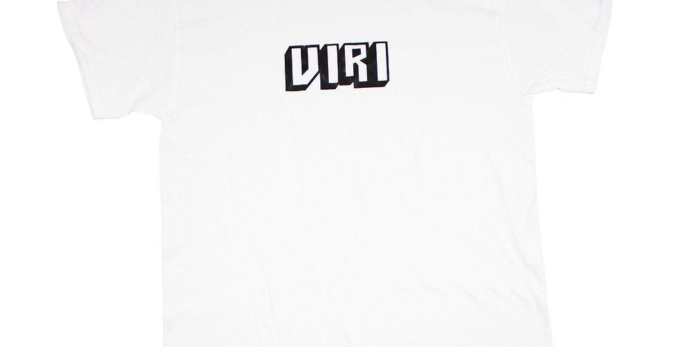 VIRI Skateboards Block Print Logo T-shirt