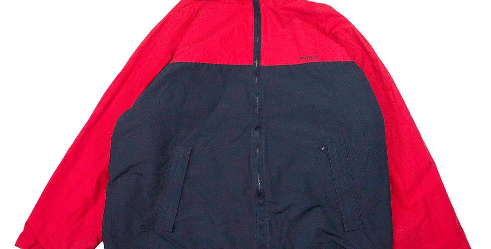 Nautica Fleece Lined Reversible Jacket