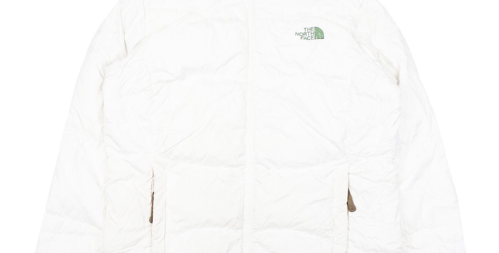 The North Face 550 White Down Jacket