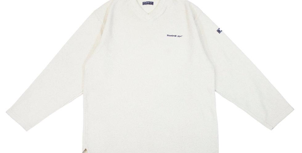 Reebok V Neck Fleece Sweatshirt