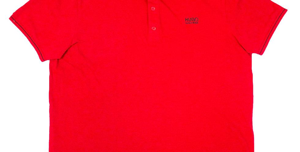 Hugo Boss Red Polo Shirt