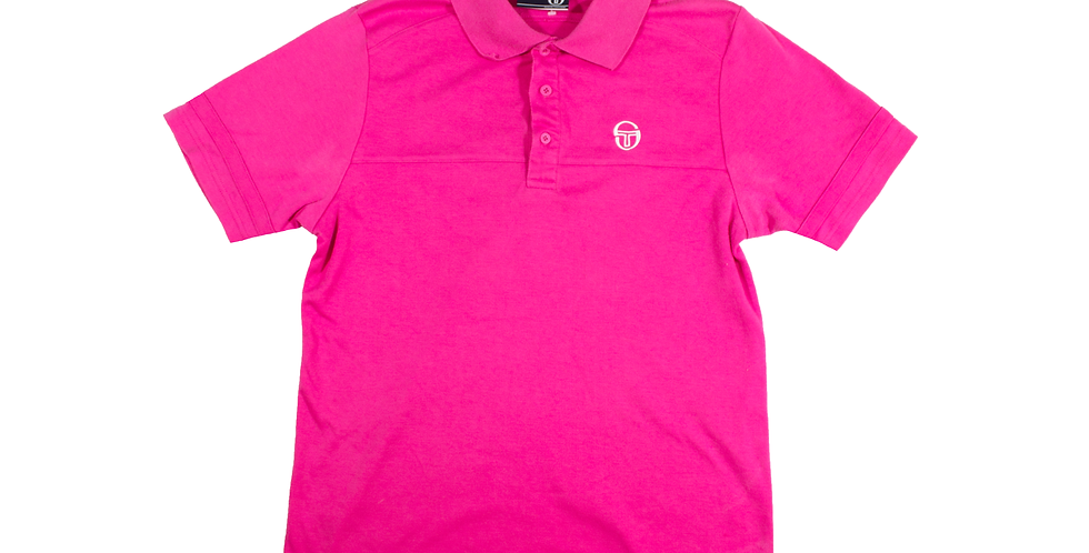 Sergio Tacchini Pink Polo Shirt