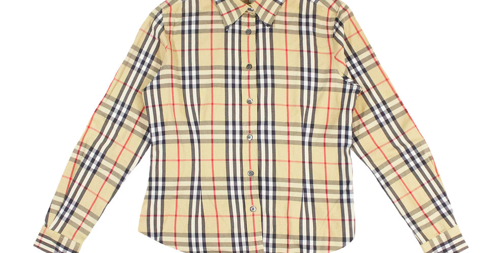 Burberry Nova Check Print Shirt