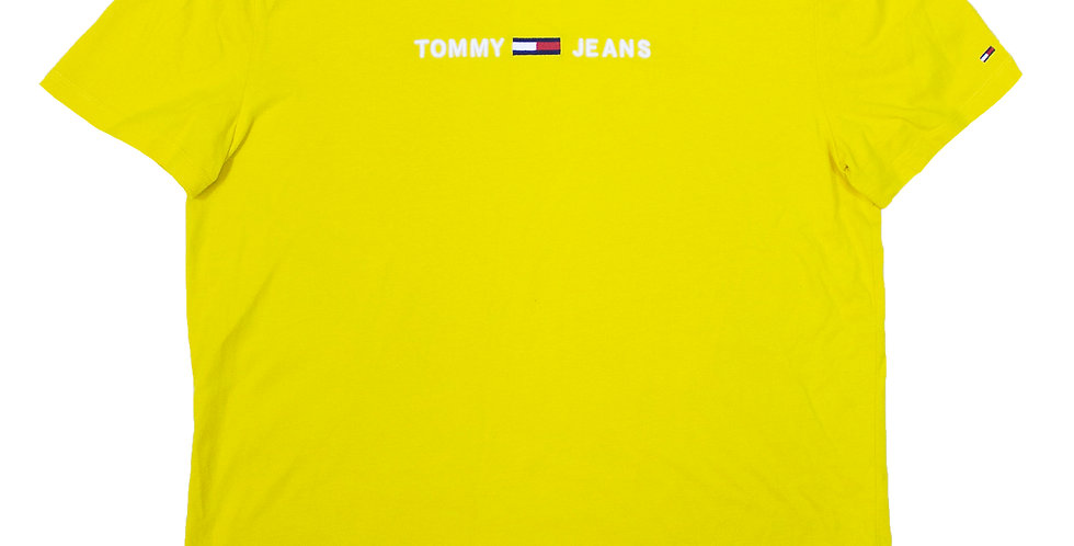 Tommy Jeans Yellow T-shirt