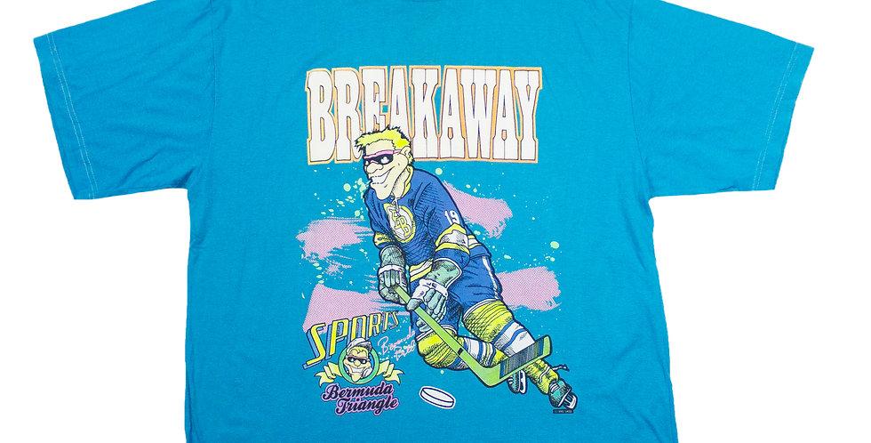 1990 Breakaway Hockey T-shirt