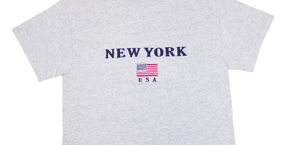 New York Cropped T-shirt