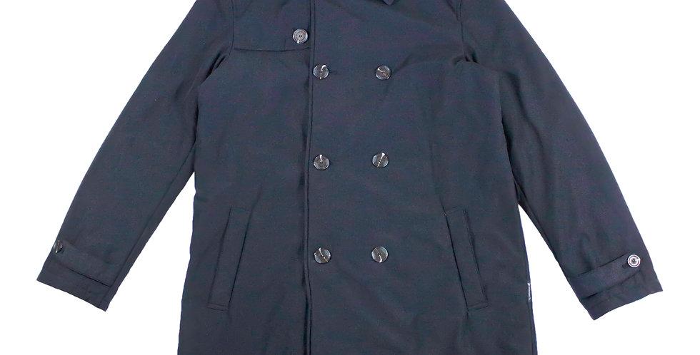 Armani Jeans Navy Trench Coat