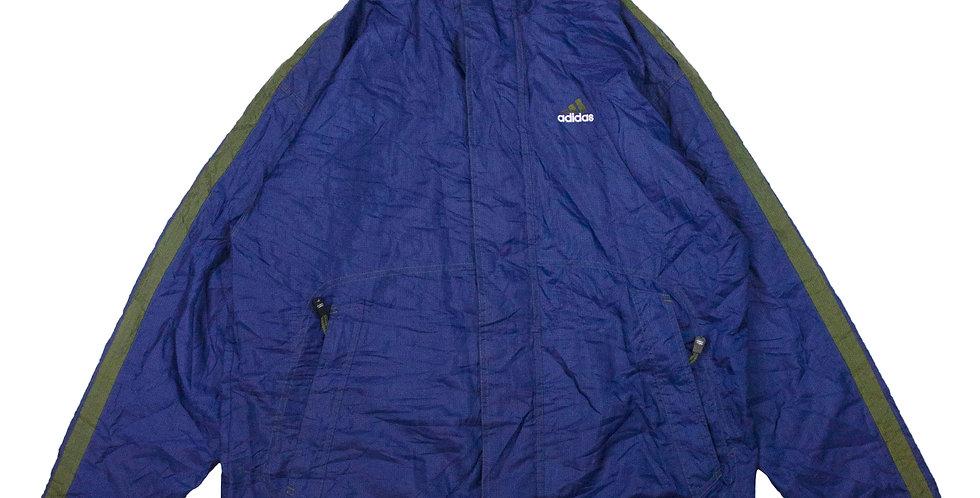 Adidas Navy Zip Up Jacket