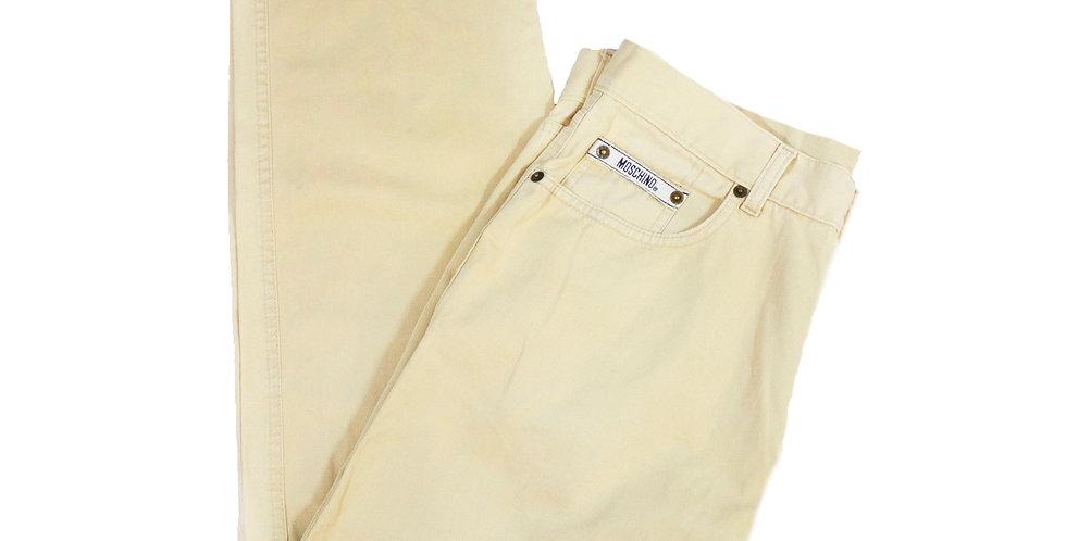 Moschino Cream Jeans