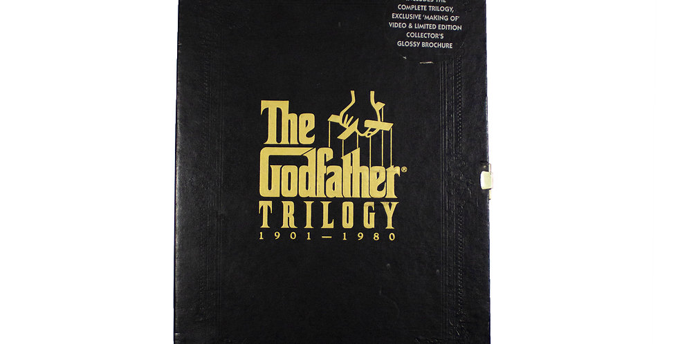 1991 The Godfather Trilogy Collectors VHS Box Set