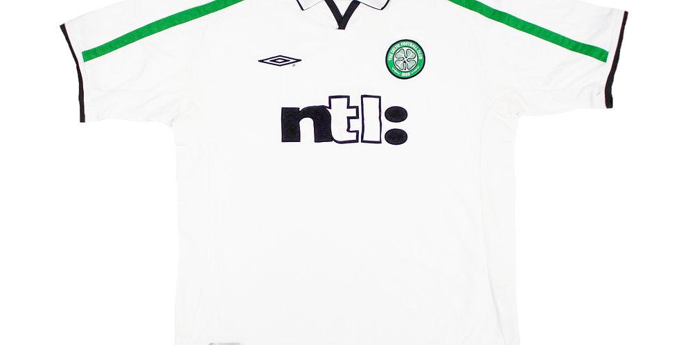 2001 - 2002 Celtic Away Football Shirt