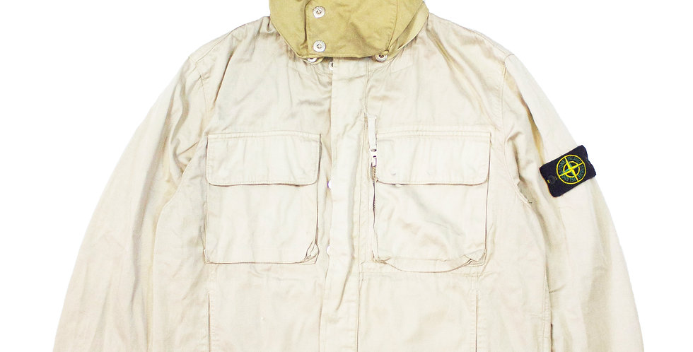 2002 Stone Island Raso Gommato Jacket