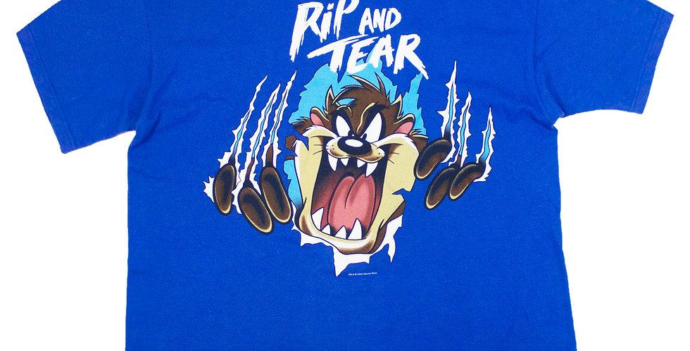 2000 Tasmanian Devil 'Rip And Tear' T-shirt