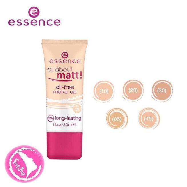 ESSENCE All About Matt! Oil-Free Make-Up тональная основа