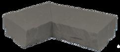 Sandstone Ledger Inside Corner Gray