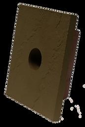 Slatestone Brunswick Brown Accessories Faux Stone Siding