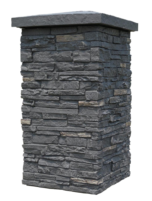 NextStone Sandstone Column Wrap Cap 18 x 18 Buff