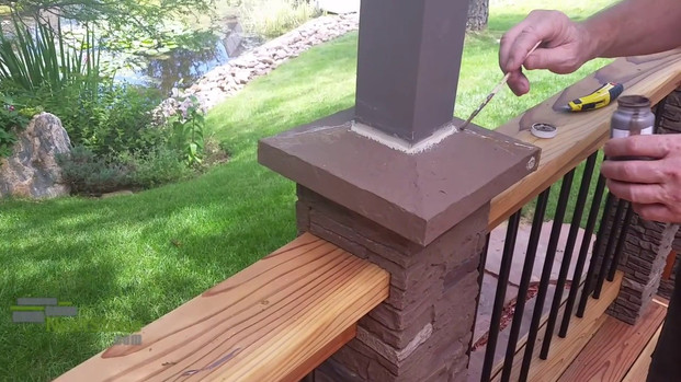 Making a Trim Cap out of a Solid Post Cover Cap