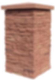 Fake Stone Column Wrap