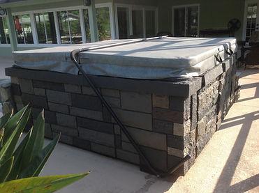 NextStone Random Rock Tri Gray Faux Stone Siding Panels