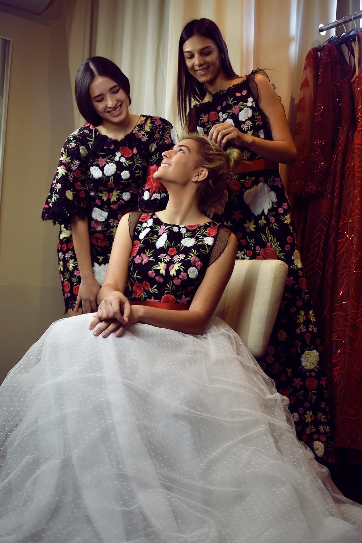 Vestidos del Diseñador Marcos Carrazana