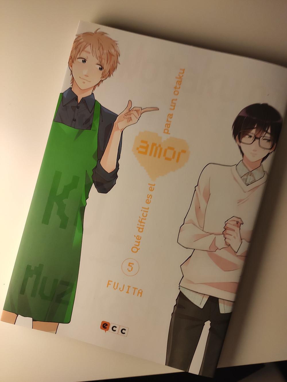 Qué difícil es el amor para un otaku tomo 5 (Ed. ECC)