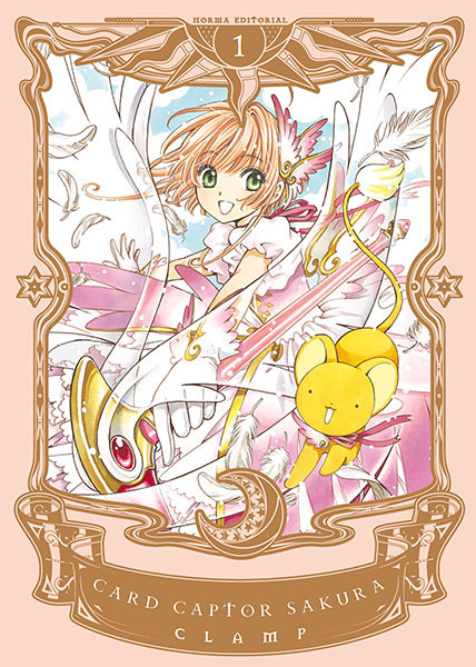 Sakura Card Captor tomo 1 Norma Editorial
