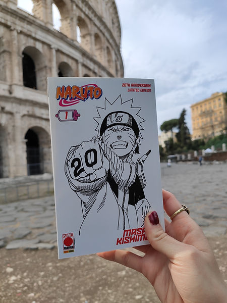 Naruto 20th limeted edition