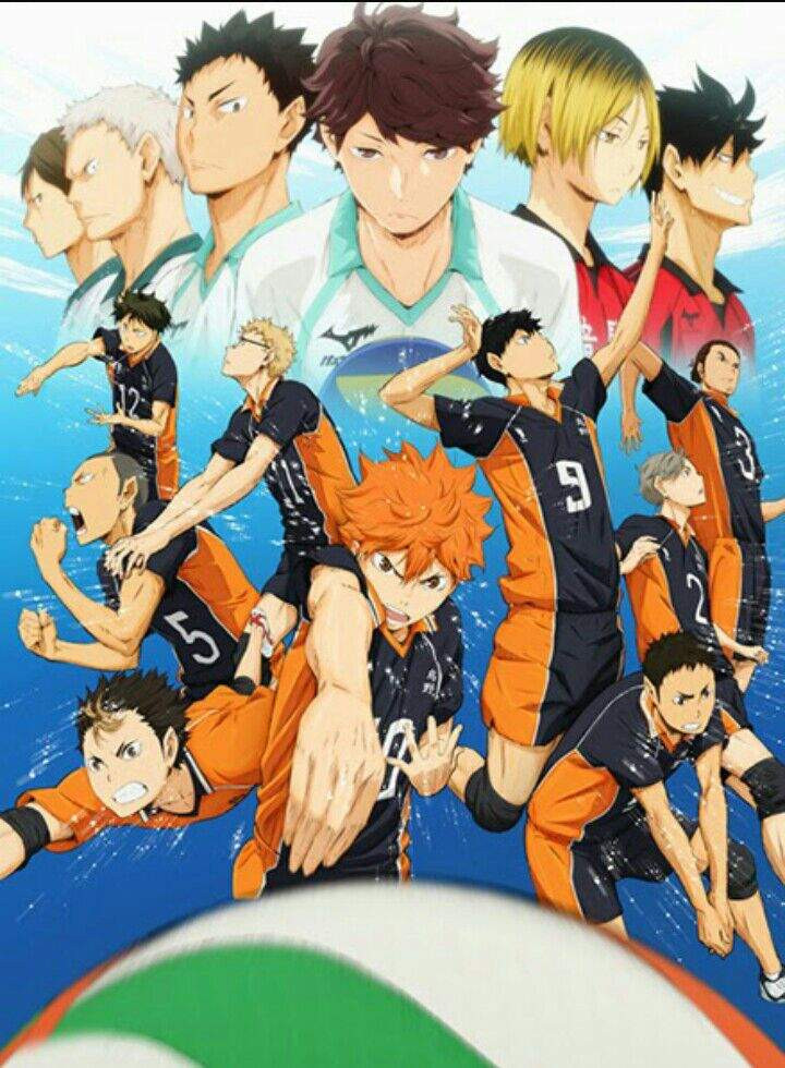 Haikyuu! temporada 1
