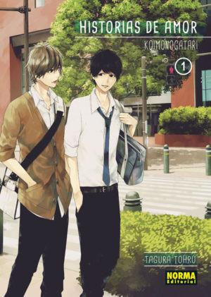 Historias de amor (Koimonogatari) tomo 1 (Norma Editorial)