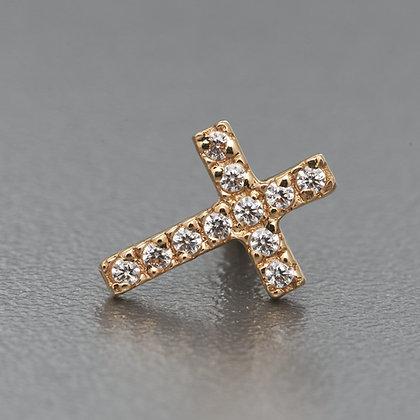 Крест Желтое Золото