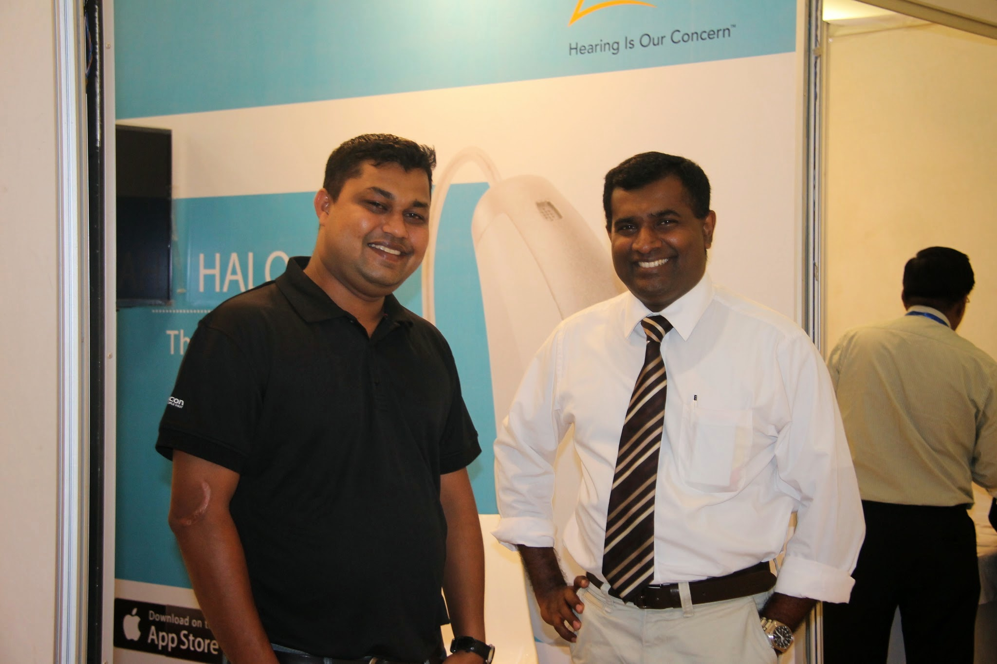 Starkey Stall At SAARC ENT Congress