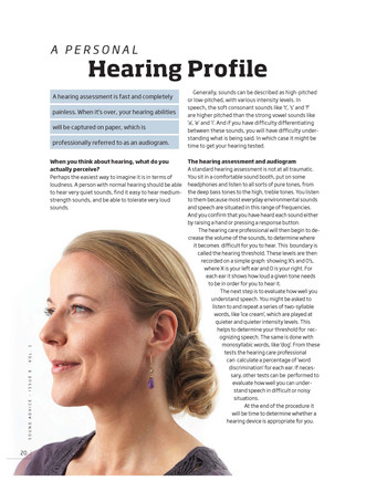 Hearing Profile