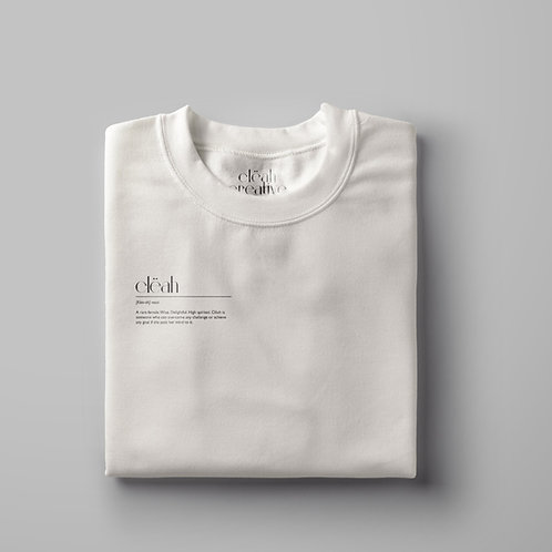 The Relaxed Clëah Crew Neck