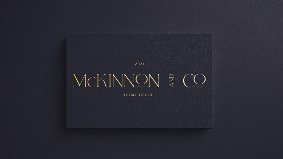 McKinnon&CO X Cleah Creative