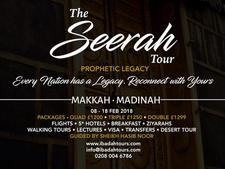THE SEERAH TOUR