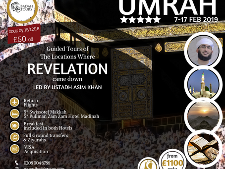THE REVELATION TOUR with Ustadh Asim Khan