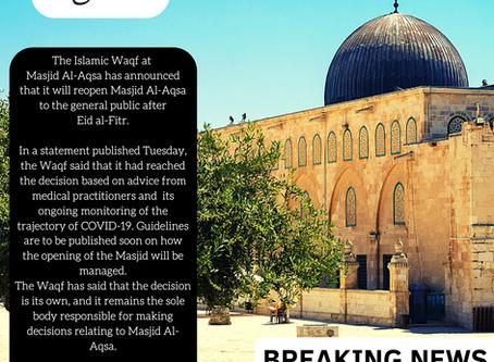 AL AQSA PILGRIM UPDATE