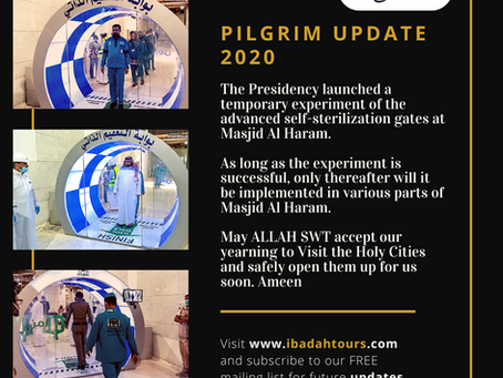 PILGRIM UPDATE MAY 2020
