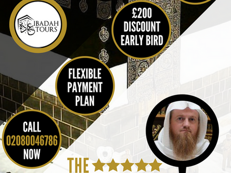 HAJJ 2019 SHIFTING 3 WEEK PACKAGE - SHEIKH WASIM KEMPSON